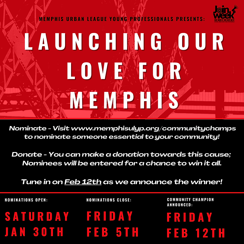 Launching Our Love For Memphis