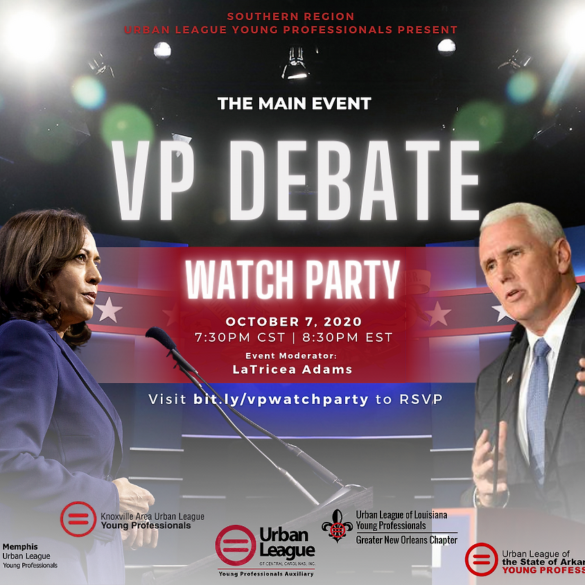 The Main Event: VP Debate Watch Party