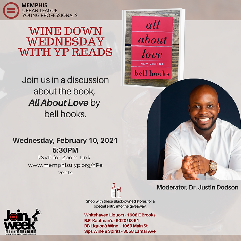 """Wine Down Wednesday - YP Reads """"All About Love"""" by bell hooks"""
