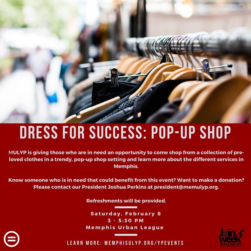 Dress for Success: Pop-Up Shop