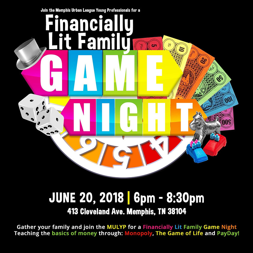Financially Lit Family Game Night
