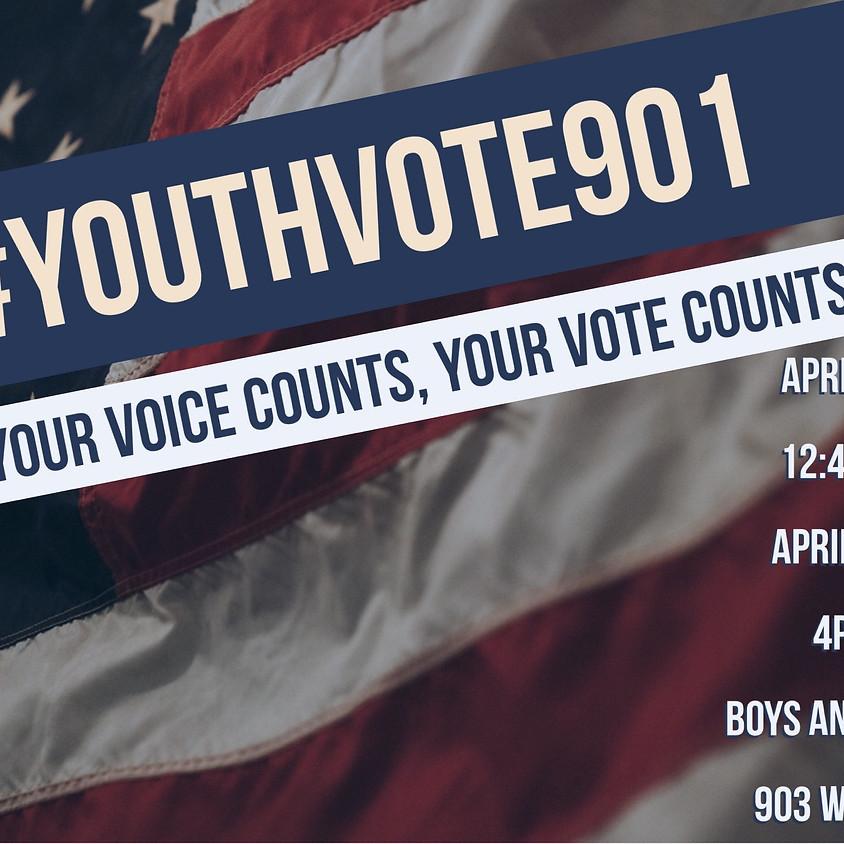 Youth Voter Registration Drive-Girls & Boys Club (April 17)