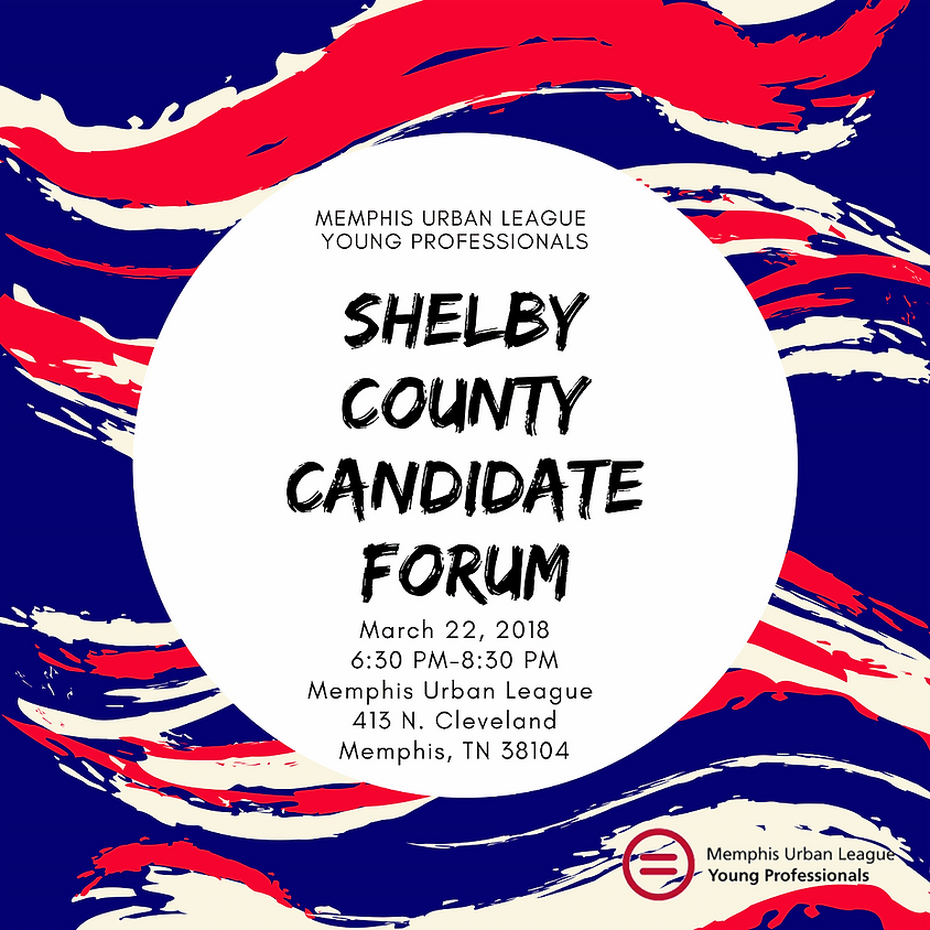 March General Body Meeting:  Shelby County Candidate Forum