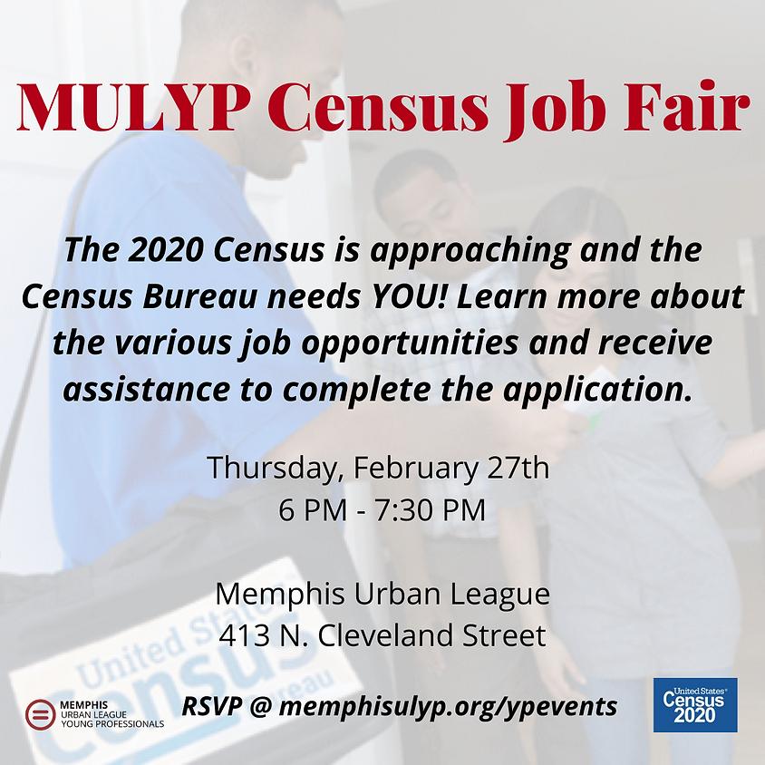 MULYP Census Job Fair