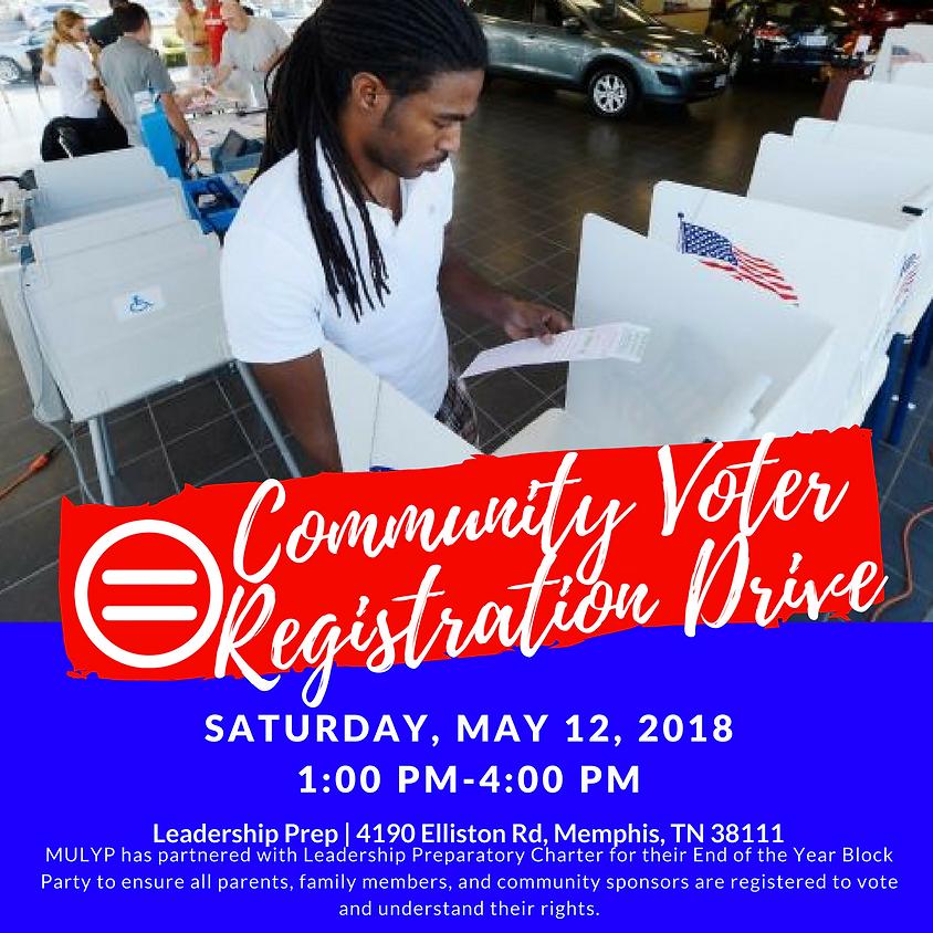 Community Voter Registration Drive