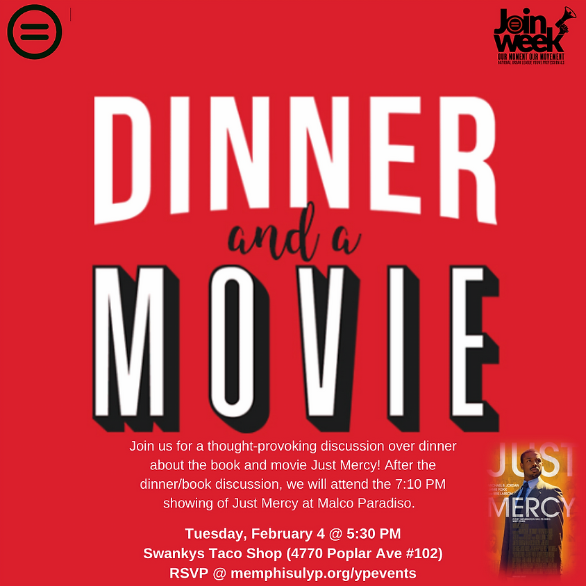 Dinner & A Movie: Just Mercy