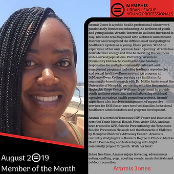 Member of the Month - Aramis Jones (1).p