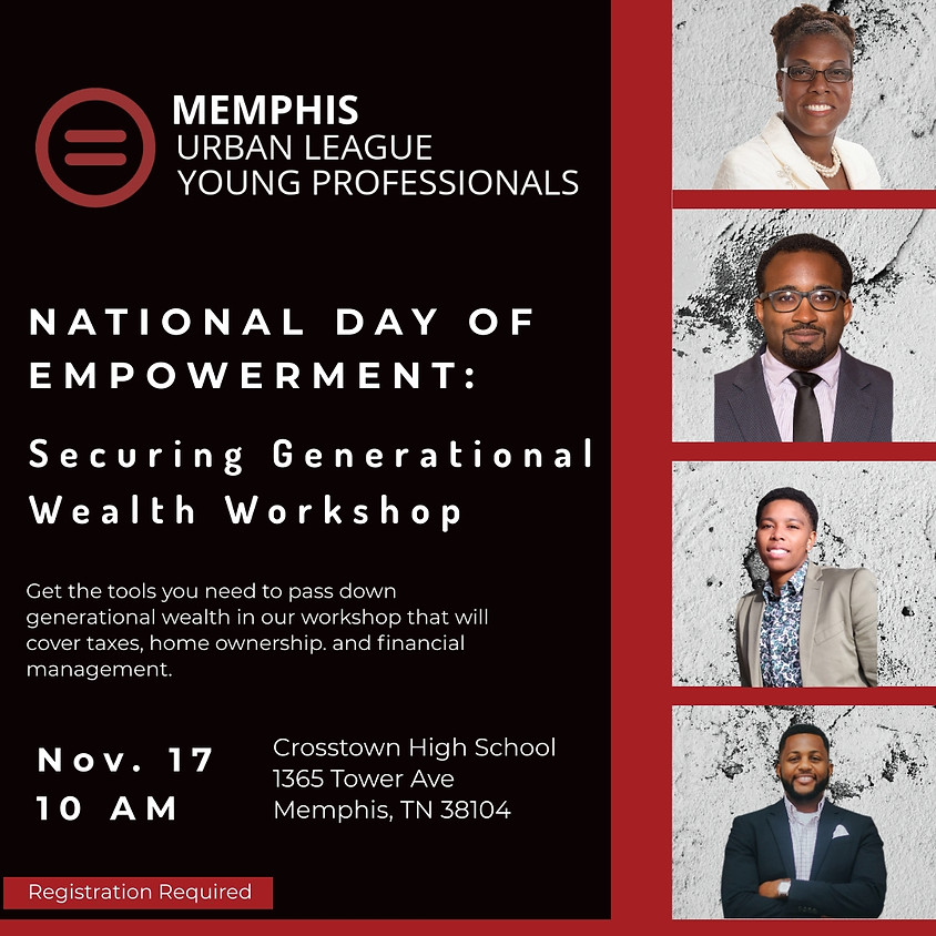 National Day of Empowerment : Securing Generational Wealth