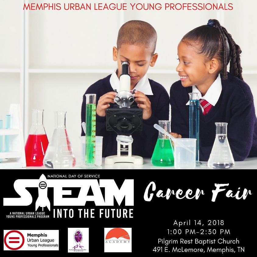 National Day of Service STEAM Career Fair