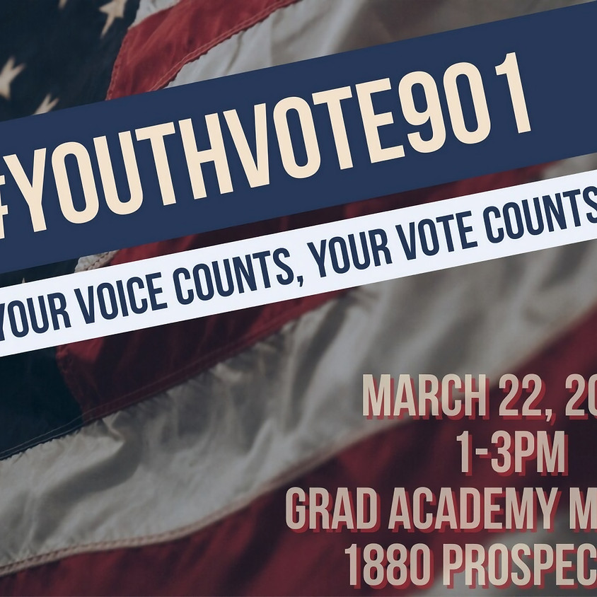 Youth Voter Registration Drive--GRAD Academy Memphis