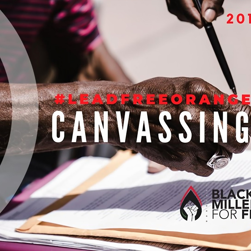 Lead Free Orange Mound Canvassing Day