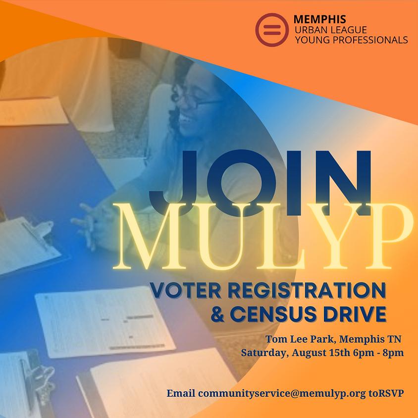 MULYP Voter Registration & Census Drive