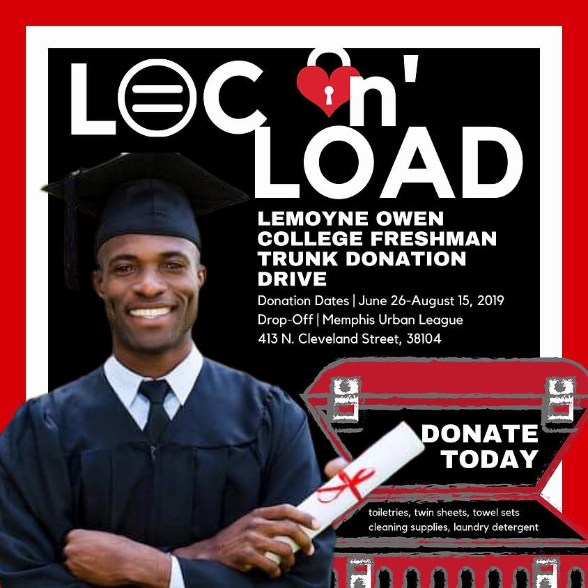LOC n' Load: LeMoyne Owen College Freshman Donation Drive/Volunteer