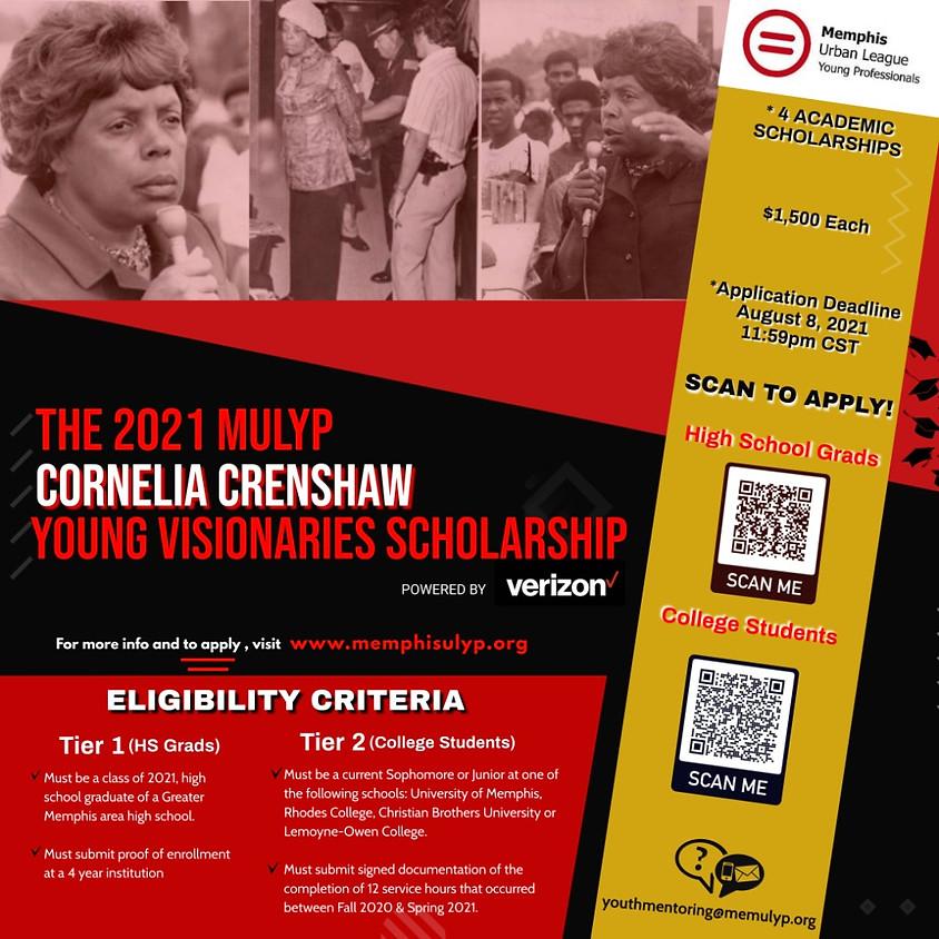 2021 MULYP Cornelia Crenshaw Young Visionaries Banquet