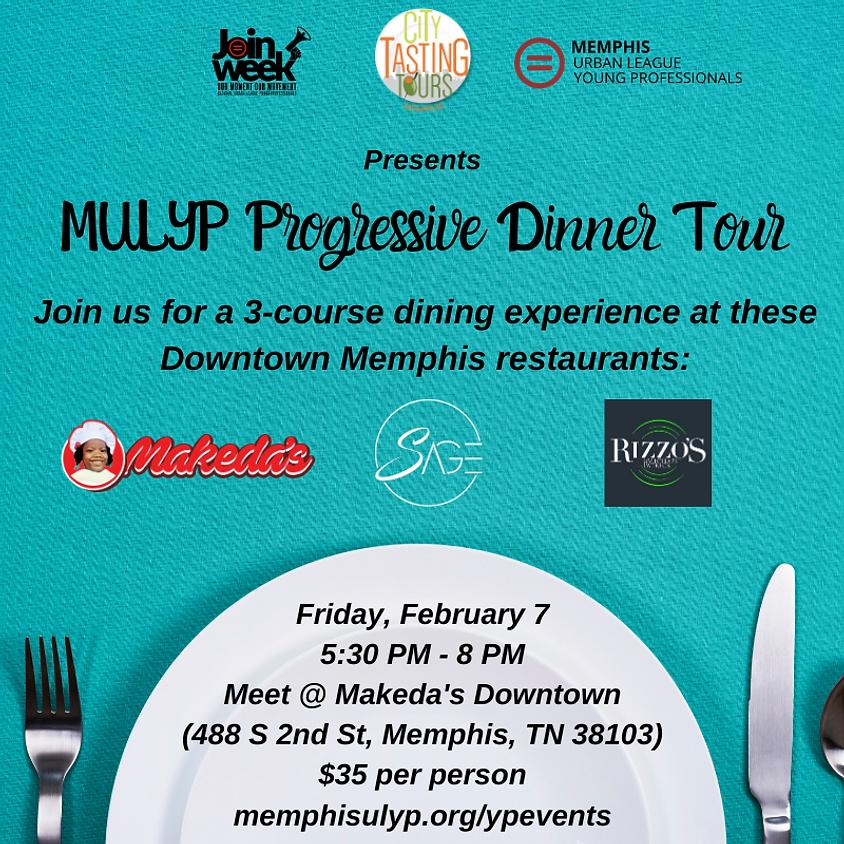 MULYP Progressive Dinner Tour