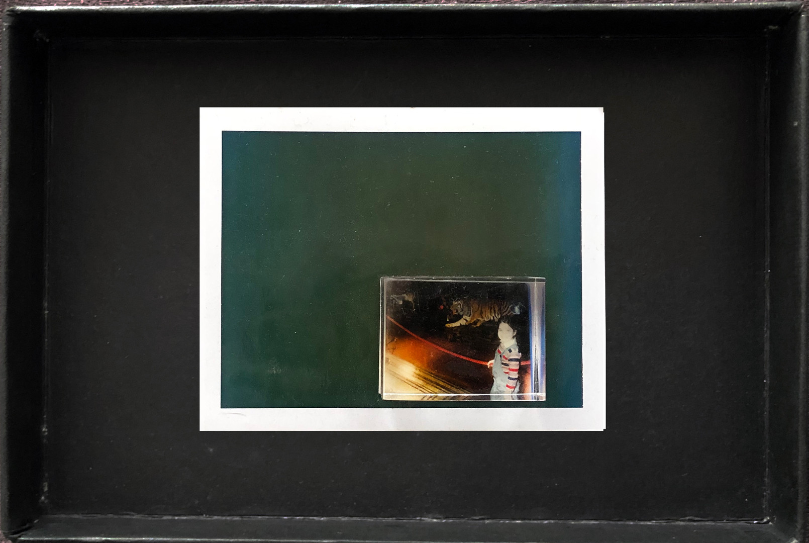 """Series X-Pola """"Eattons"""" 2019 8/10cm mounted Plexiglass on Polaroid Edition 1/1 NIS 1,000 per object Sold out"""