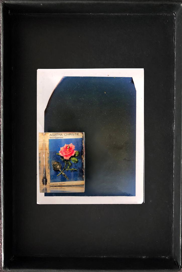 "Series X-Pola ""Agatha"" 2019 8/10cm mounted Plexiglass on Polaroid Edition 1/1 NIS 1,000 per object Sold out"