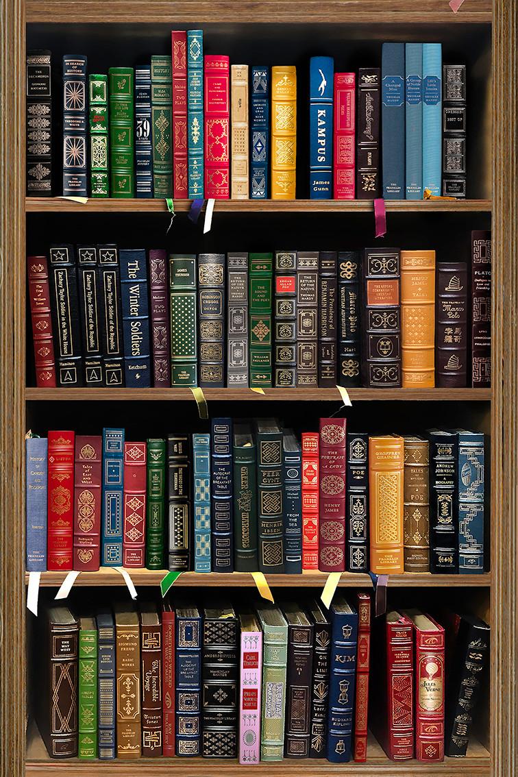 'go rest library', 2019 80/120 archival pigment print 4000$+vat edition 1/5 +2AP