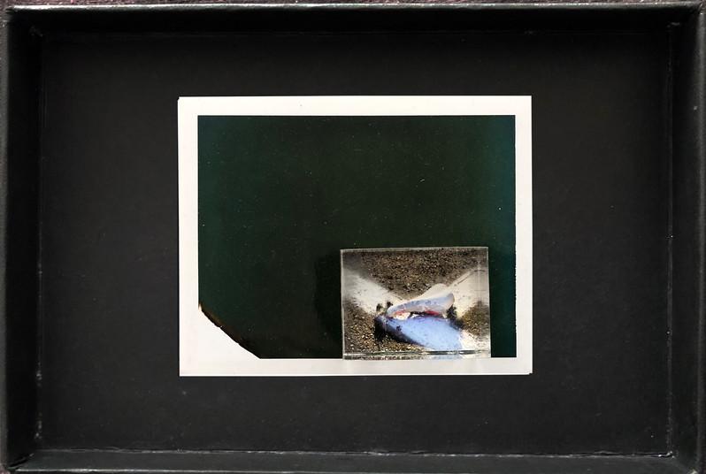 "Series X-Pola ""Bike"" 2019 8/10cm mounted Plexiglass on Polaroid Edition 1/1 NIS 1,000 per object"