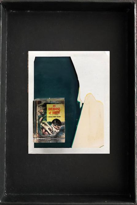 "Series X-Pola ""Cinema"" 2019 8/10cm mounted Plexiglass on Polaroid Edition 1/1 NIS 1,000 per object Sold out"