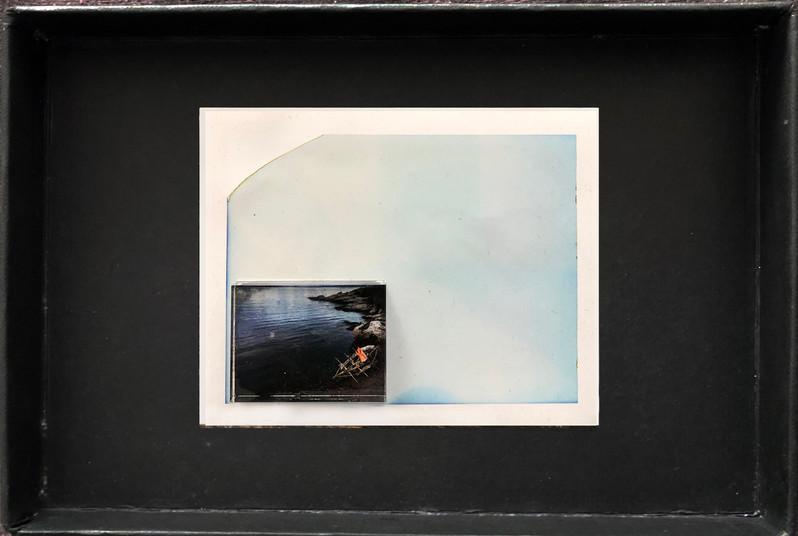 "Series X-Pola ""Pirates"" 2019 8/10cm mounted Plexiglass on Polaroid Edition 1/1 NIS 1,000 per object Sold out"