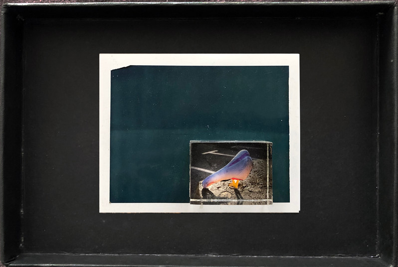 "Series X-Pola ""Sunset"" 2019 8/10cm mounted Plexiglass on Polaroid Edition 1/1 NIS 1,000 per object"