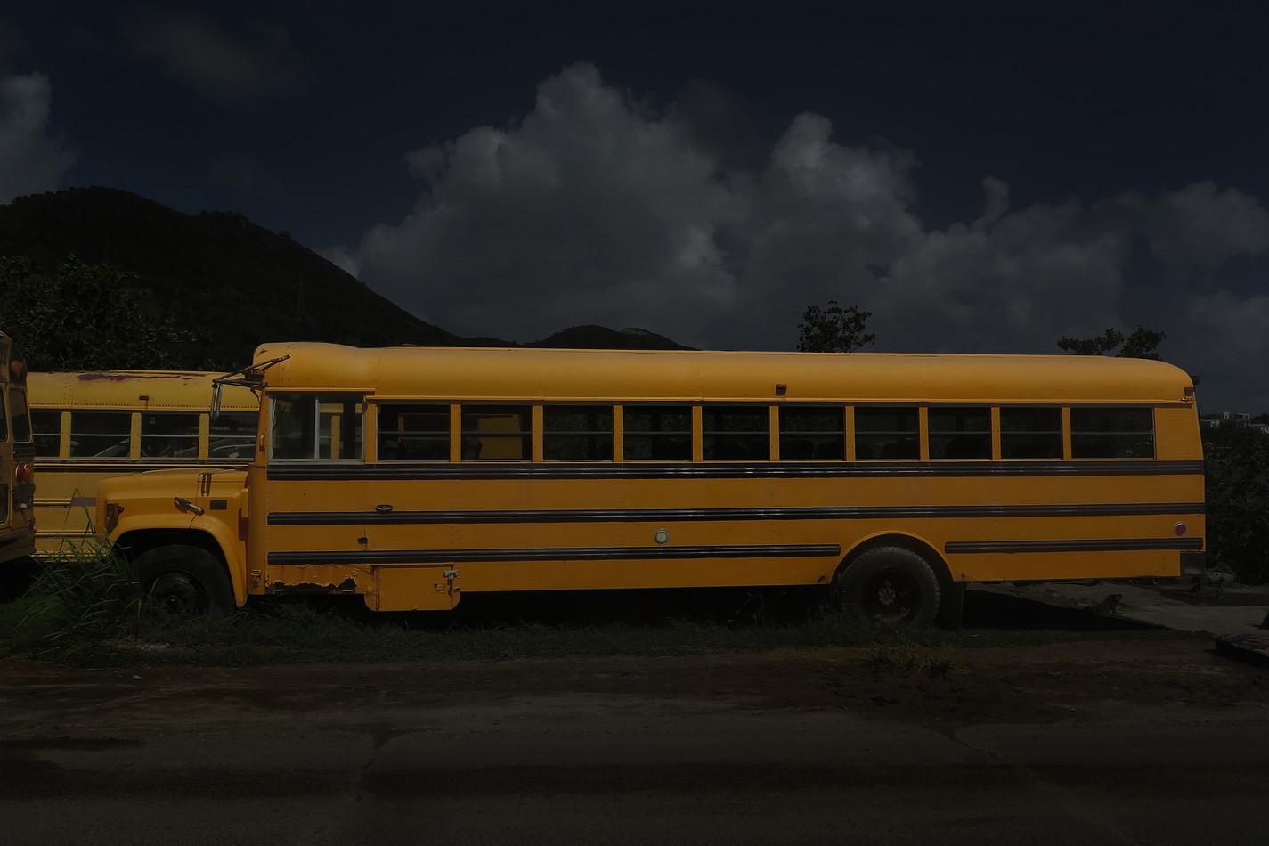 "Evidence Zero series. ""Night bus"" 2016 50/70cm, archival pigment print Edition 2/7 1,850$+vat, framed"