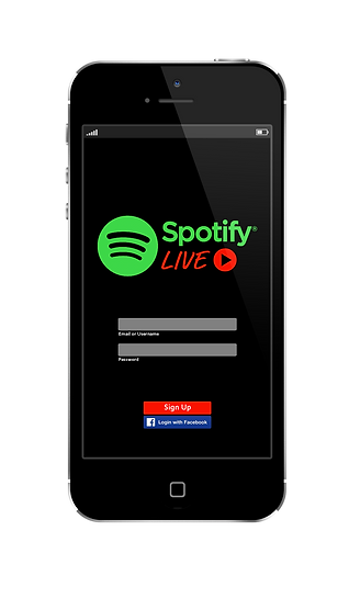 Spotify app home screen.png
