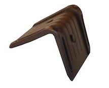 black plastic corner edge protector
