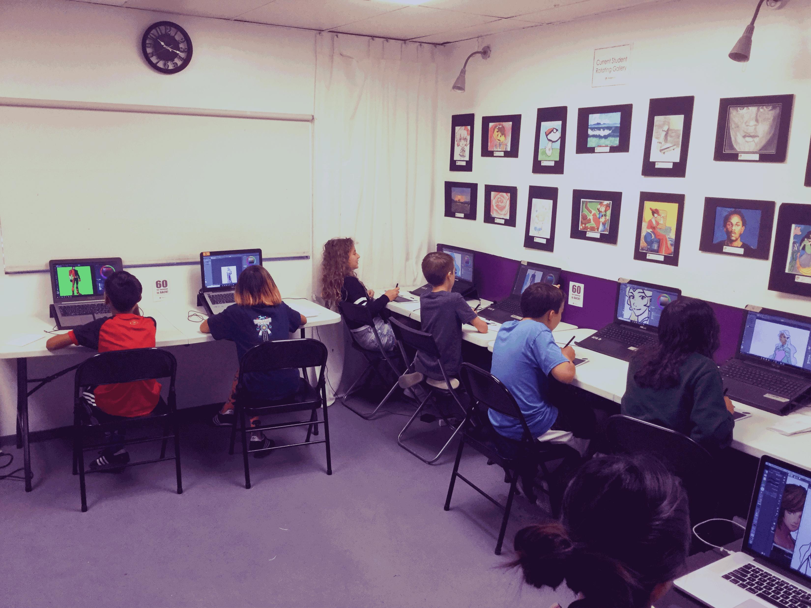 Digital Arts Camp 2018