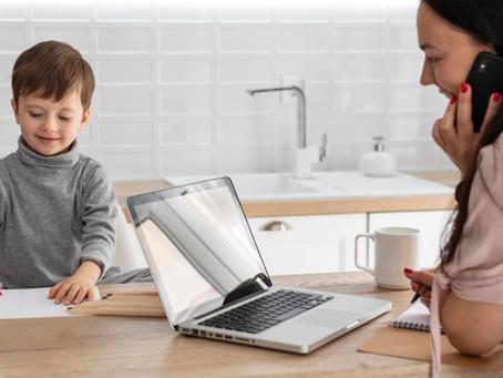4 conseils pour les mamans en home office
