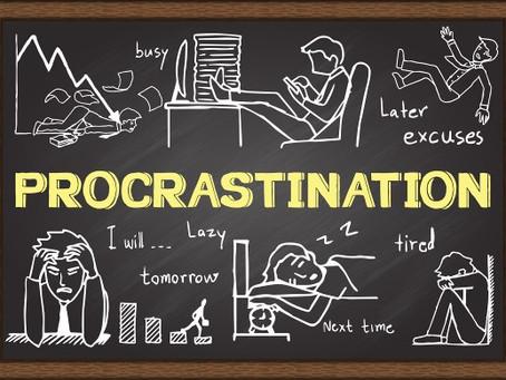 Quelles sont les causes de la procrastination sur le lieu de travail ?
