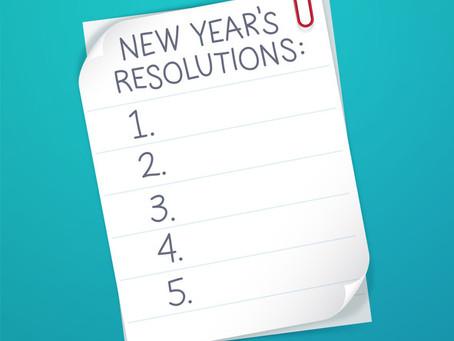 Sept étapes pour faire tenir vos résolutions du Nouvel An