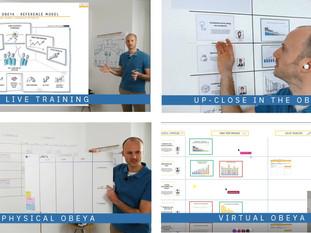 Virtual Obeya training? Sure!