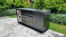 Custom BBQ Cabinet