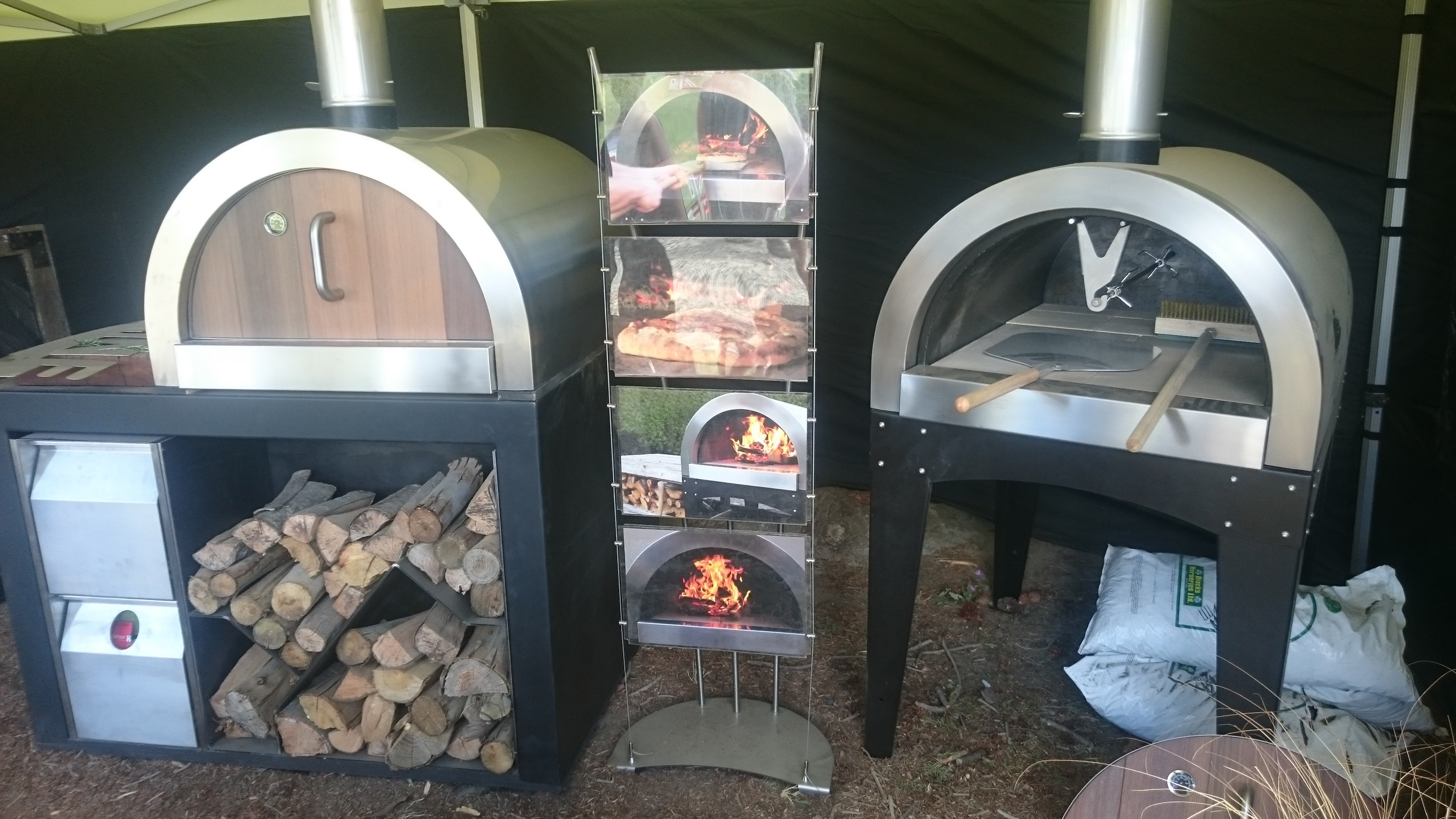 Pizza Oven Display