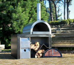 Wood fired Pizza Oven Combo
