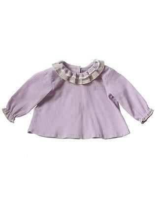 Blouse Clématite violette