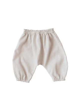 Pantalon Clématite beige