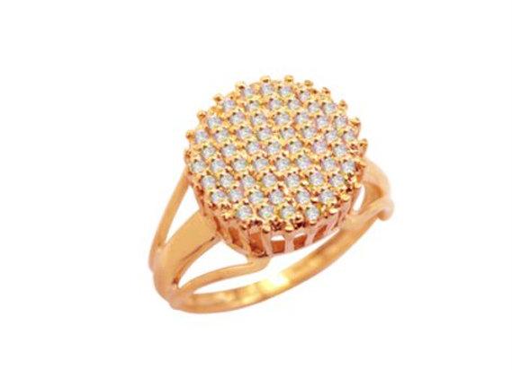 Anel em Ouro Rosé e Brilhantes