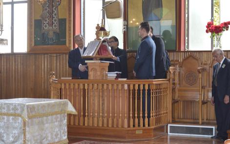 St Nicholas Greek Orthodox Church Chantors