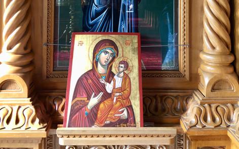 Theotokos and Jesus