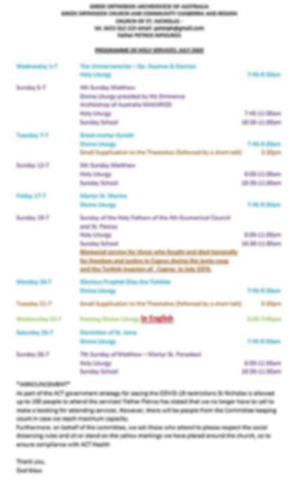 Church Programme - July 2020 (English).J