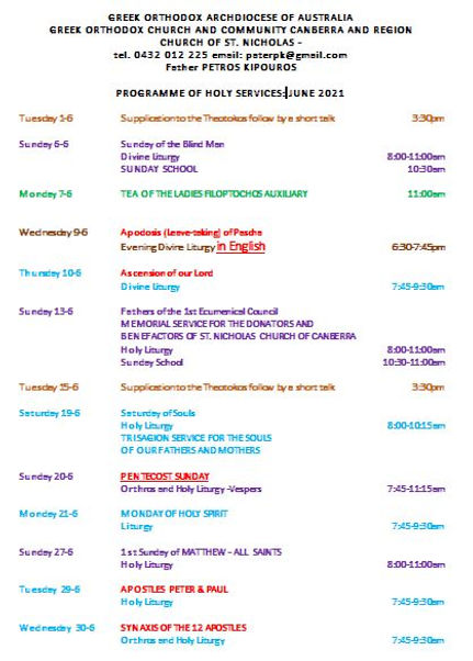 Church Programme - June 2021 (English).J