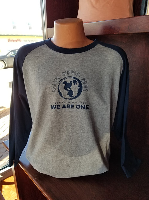 "3/4 Sleeve ""WE ARE ONE"" T-shirt"