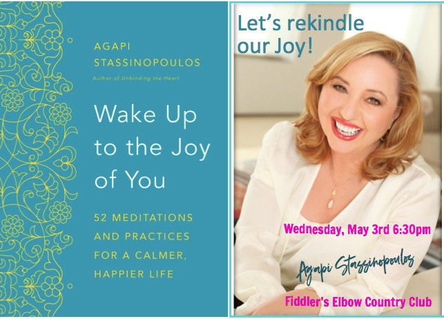 An Evening of Joy With Agapi Stassinopoulos