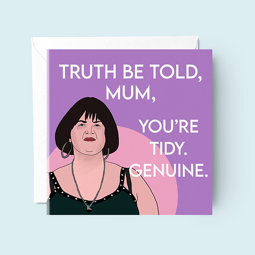 Nessa Mother's Day Card