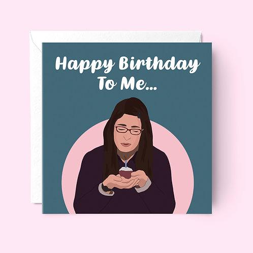 Big Bang Theory Birthday Card
