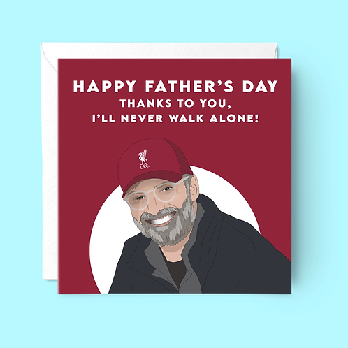 Liverpool FC Father's Day Card