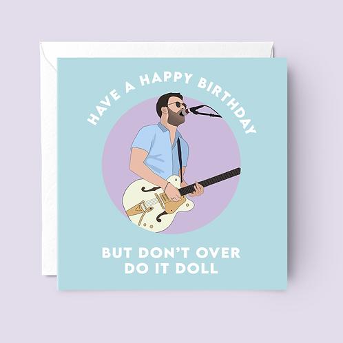 Courteeners Birthday Card